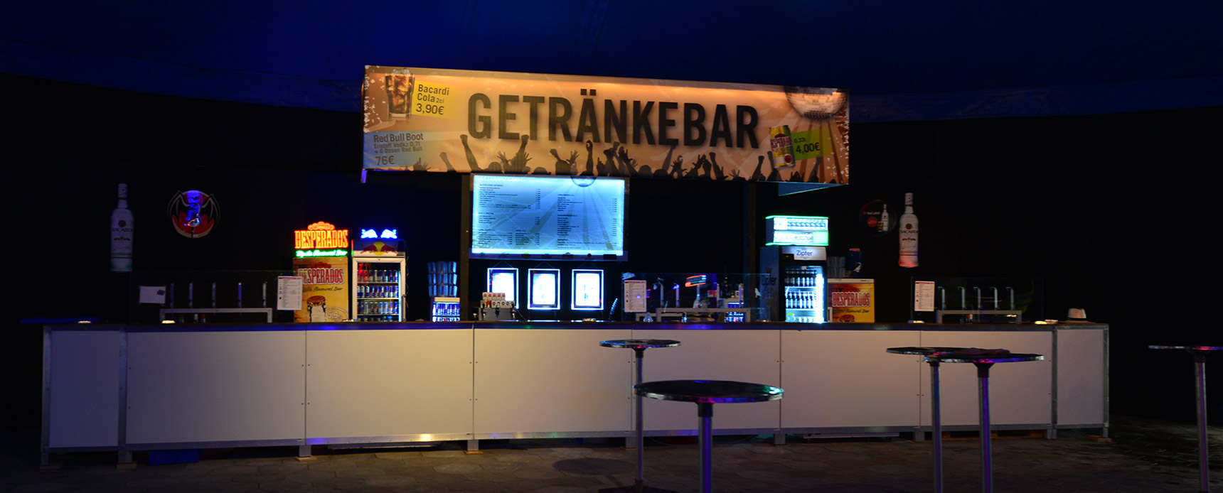 Getränke Bar mieten Oberösterreich