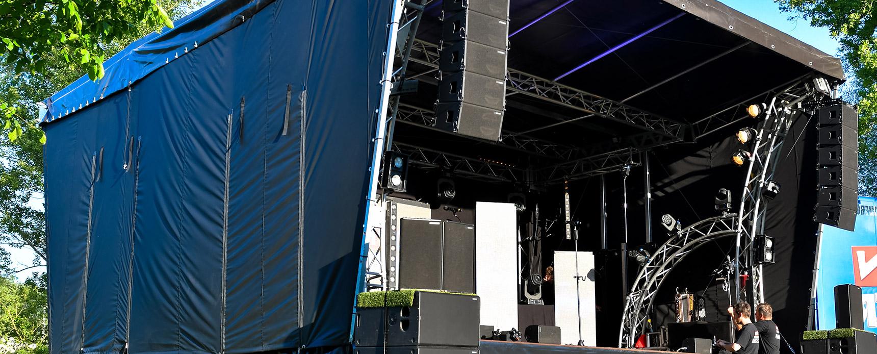 mobile Bühne SmartStage 50