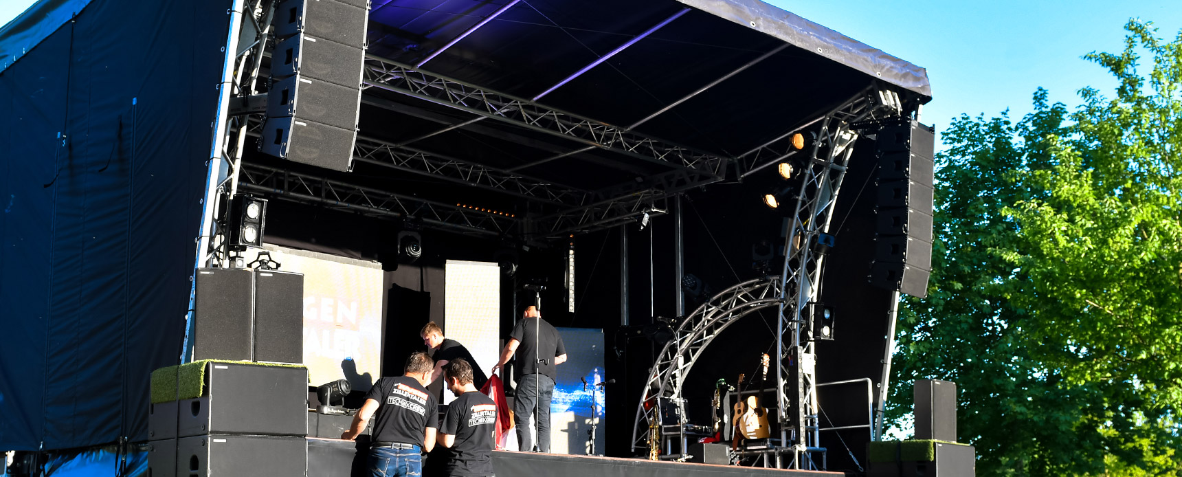 mobile Bühne SmartStage 50qm